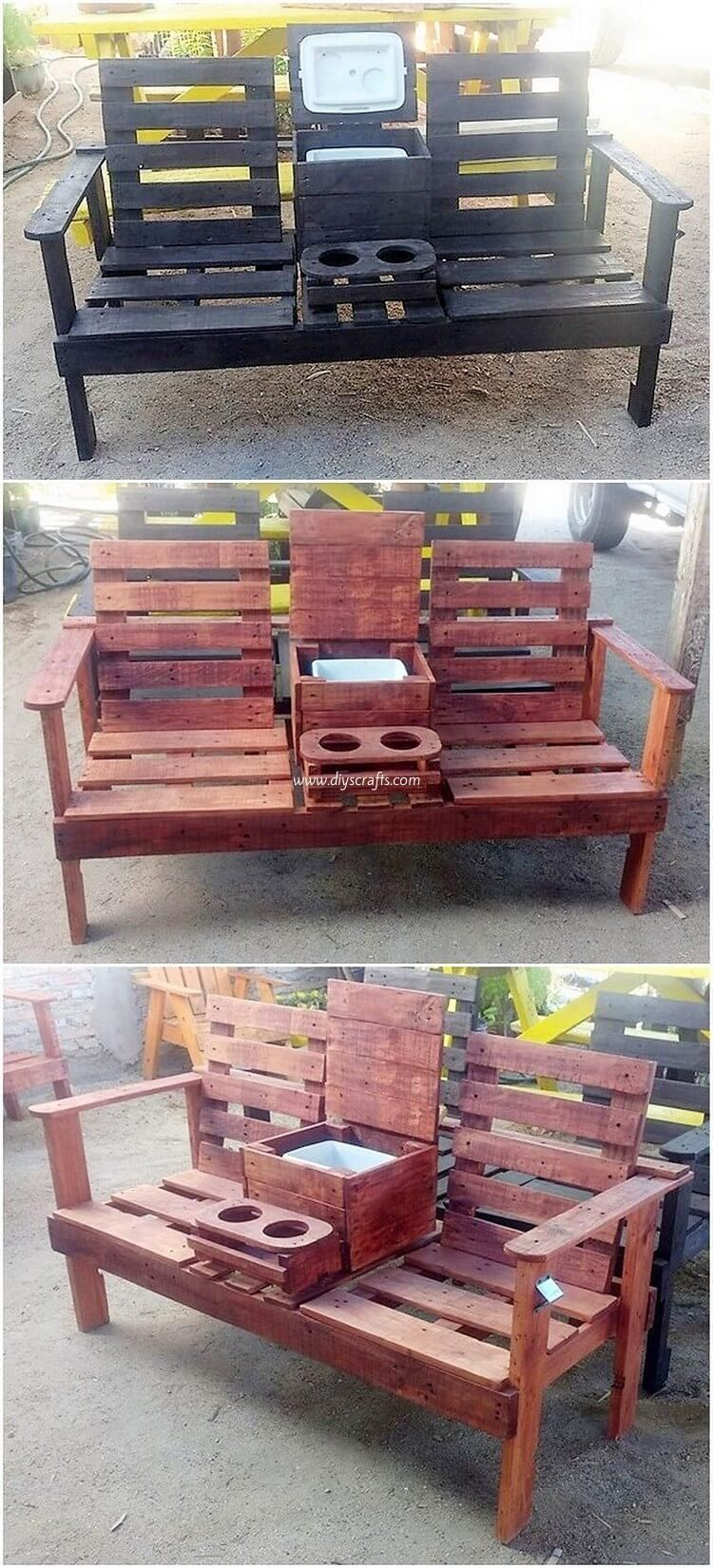 Charming Diy Crafting Ideas With Shipping Pallets Pallet Furniture