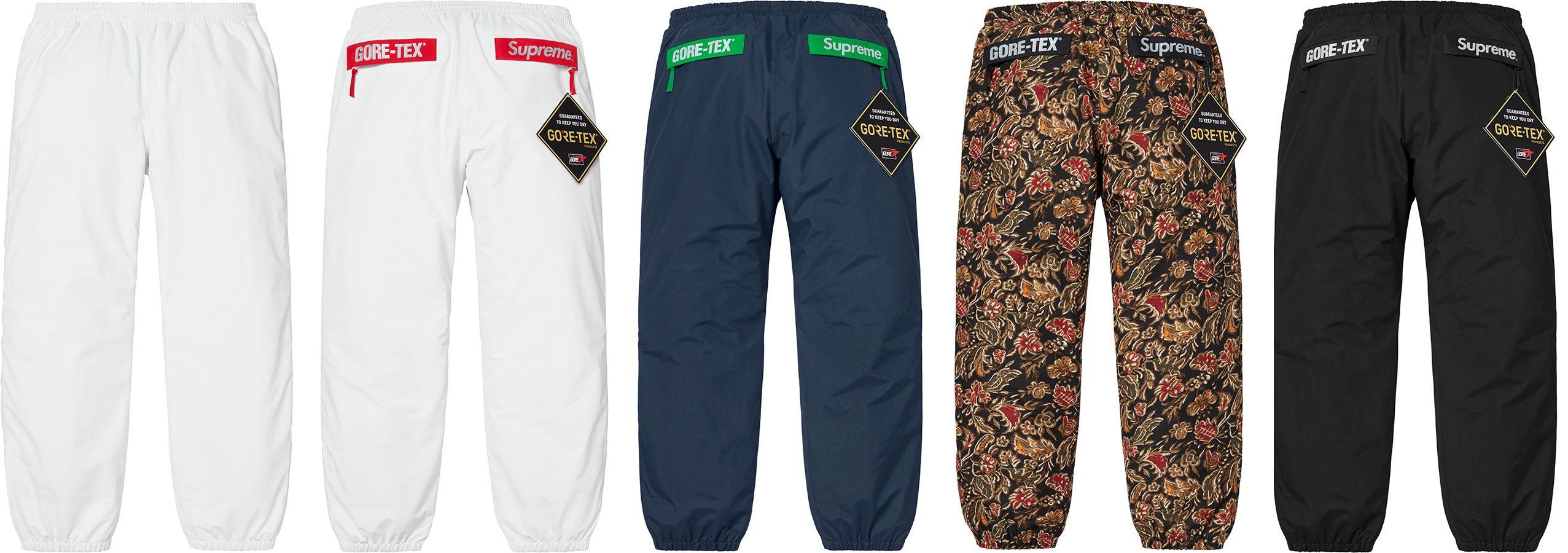 Supreme Gore Tex Pant Pants Fashion