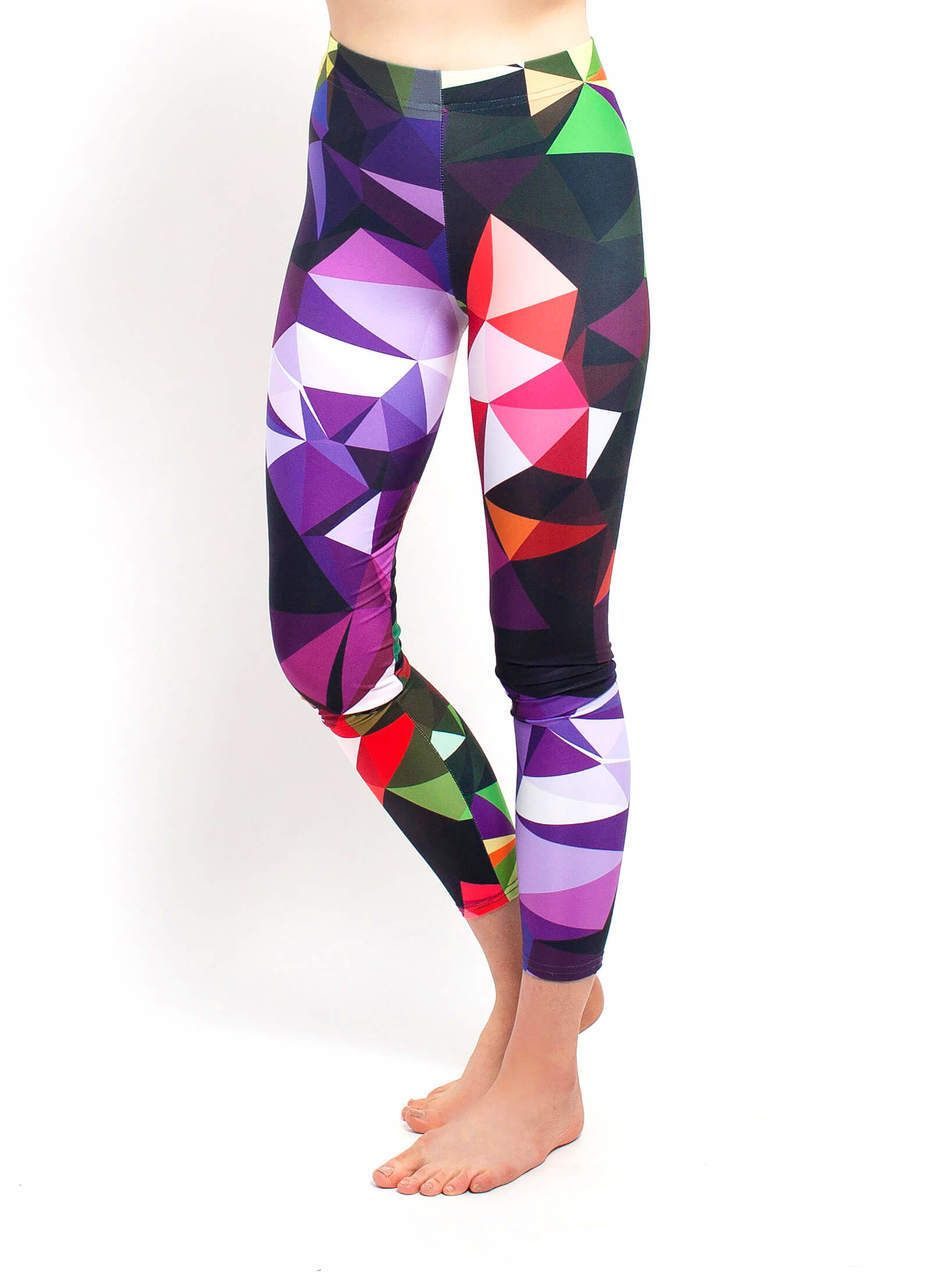 ecf0dd1db8352 Yoga Leggings - Colorful Geometric Print in 2019 | **** ALL THE ...