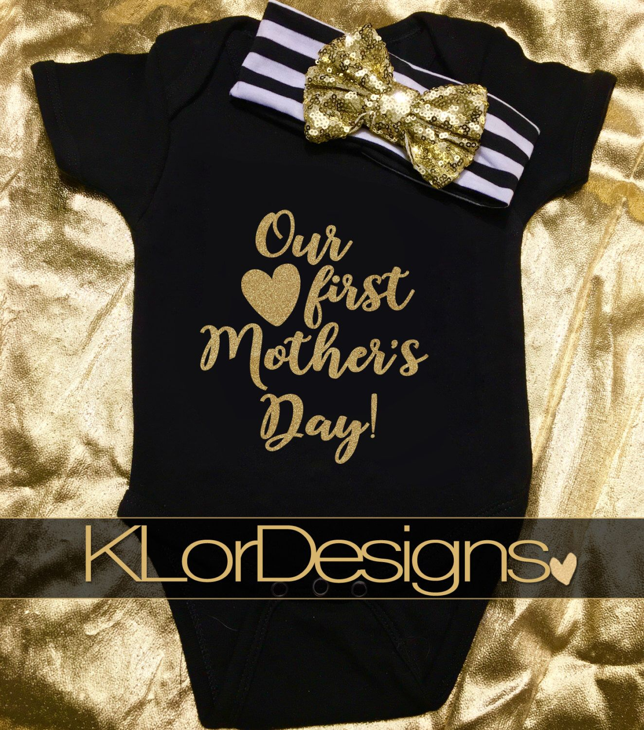 Our first mothers day baby girl onesie mothers day gift mommy our first mothers day baby girl onesie mothers day gift mommy and me negle Image collections
