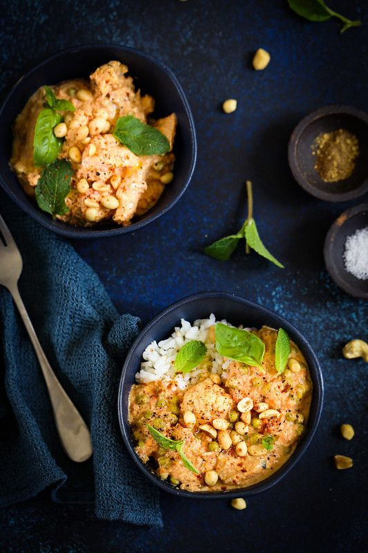 Curry végétarien au chou-fleur