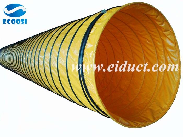 HVAC Air Handler Evaporator Coil Plenum and