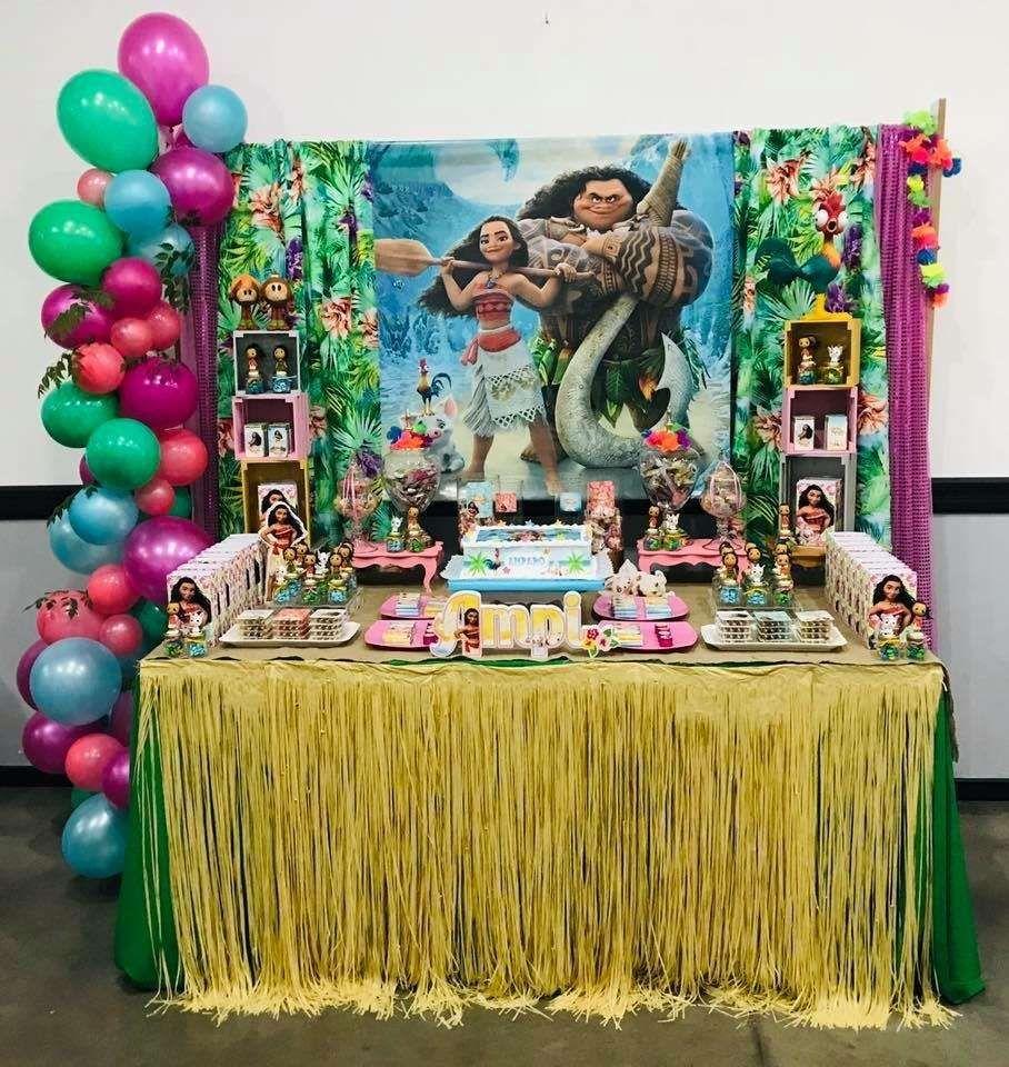 Moana Birthday Party Ideas Muana Birthday Party Fun Birthday