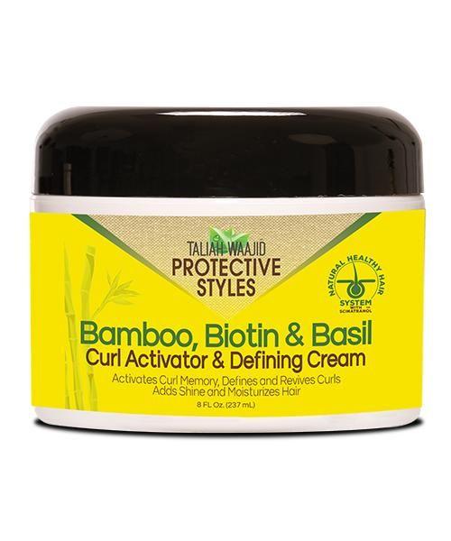 Bamboo Biotin & Basil Curl Activator & Defining Cream 8oz ...
