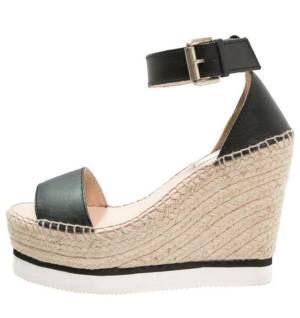 See By Chloé Sandalias De Cuña Black Reclama El Protagonismo Que Se Merecen  Las sandalias de mujer normalmente se utilizan para disfrutar al máximo del  ... 22db2aabd0c9