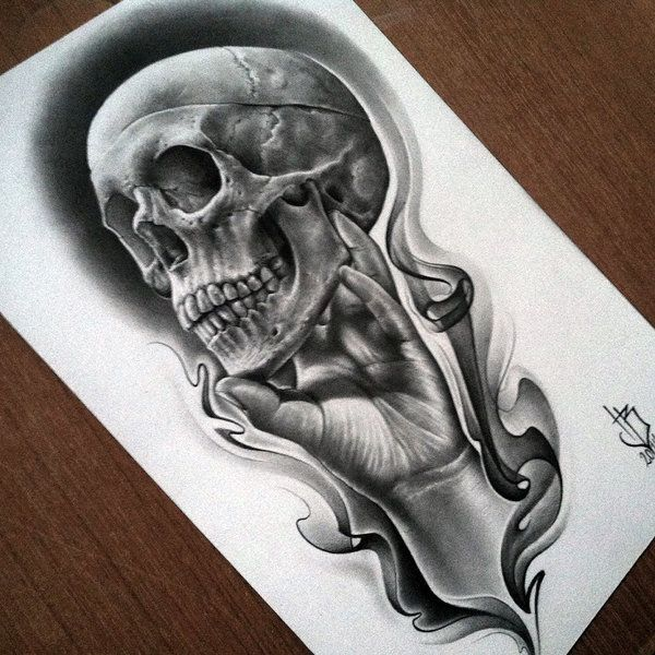 Skull And Guns Unfinished By Ifinch On Deviantart: To Be Or Not To Be... By Herrerabrandon60.deviantart.com