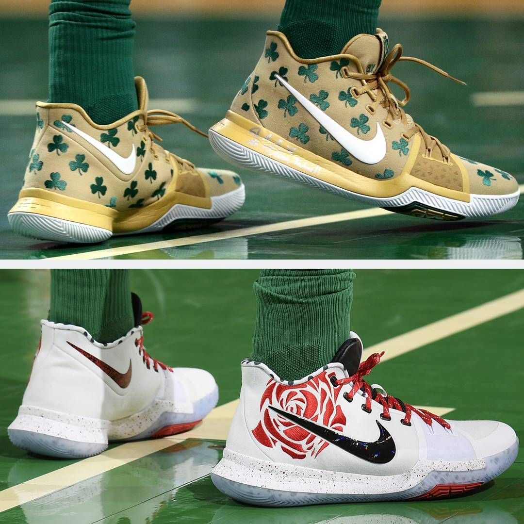 best service 1237e 69149 4fbc0 511ec  hot which is the hotter kyrie 3 colourway luck or mom  uncledrew kyrieirving nike kyrie3 luck