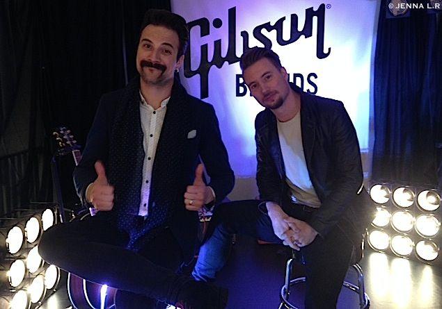 """Hier, ROYAL REPUBLIC était en promotion au Show Room Gibson à Paris pour la sortie de leur nouvel album """" Weekend Man """" le 17 juin dans les bacs chez Spinefarm Records.  Leur message ; https://youtu.be/XAlCPjz7CYI"""
