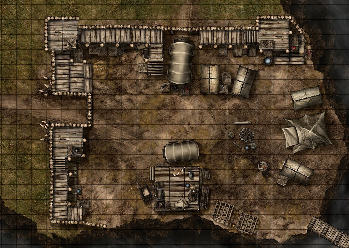 picture about Dungeons and Dragons Tiles Printable called Maphammer is designing combat maps for DD, Pathfinder and