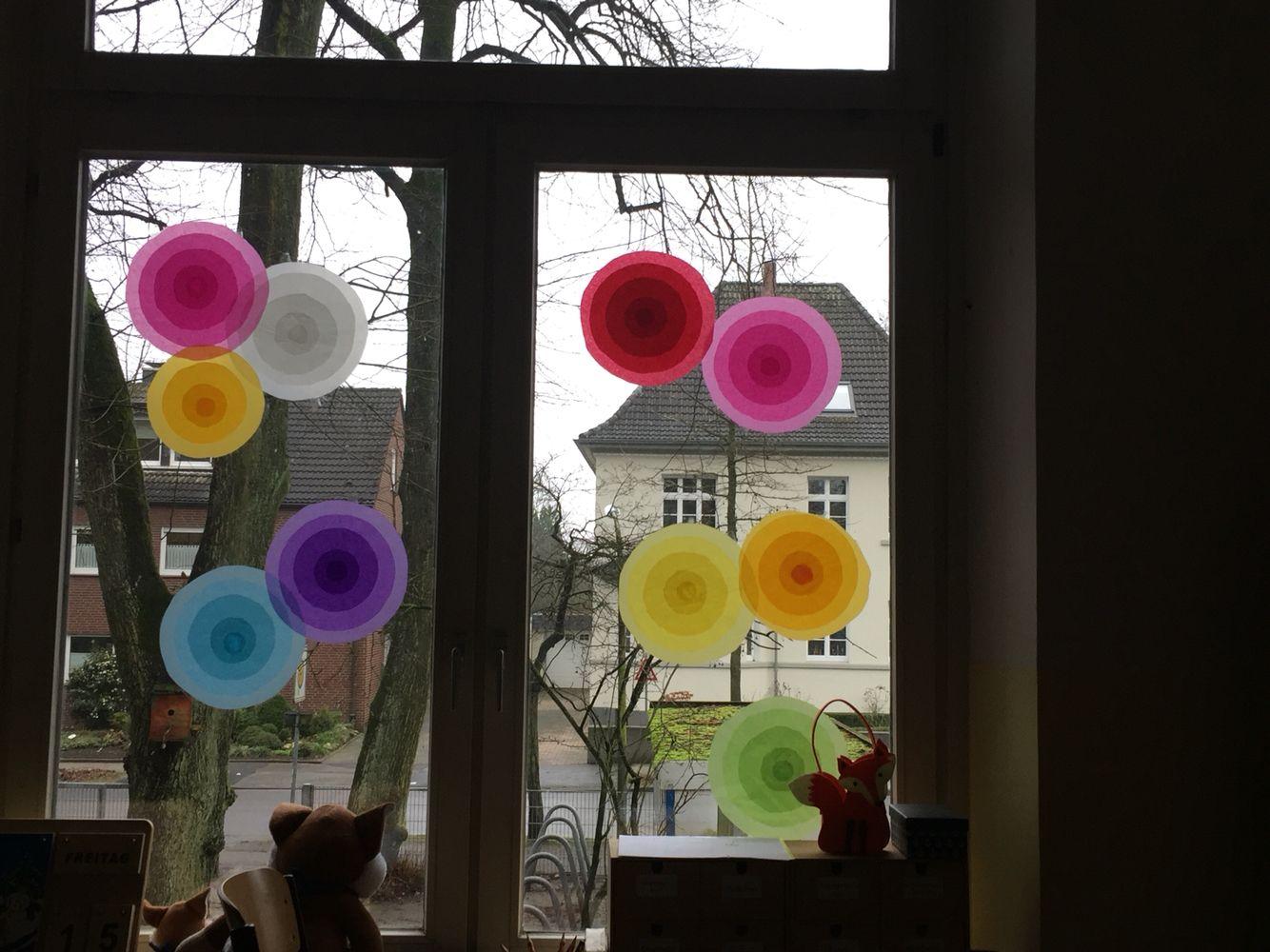 Faschingsdeko Fur Fenster Fasching Fotoideen Kita Kindergarten