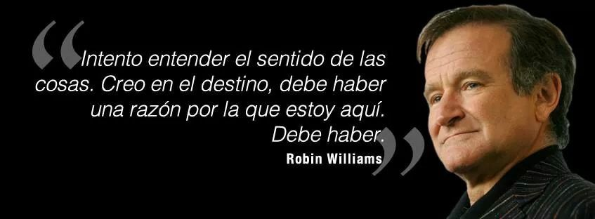 Palabras Robin Williams Robin Williams Frases Frases Y