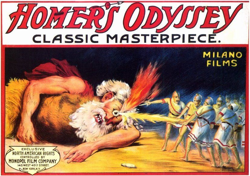 Homer's oral story The Odyssey written around 1800-1300 BCE written about the 10 year Trojan War and one of the Greek leaders, Odysseus's journey home from fighting.