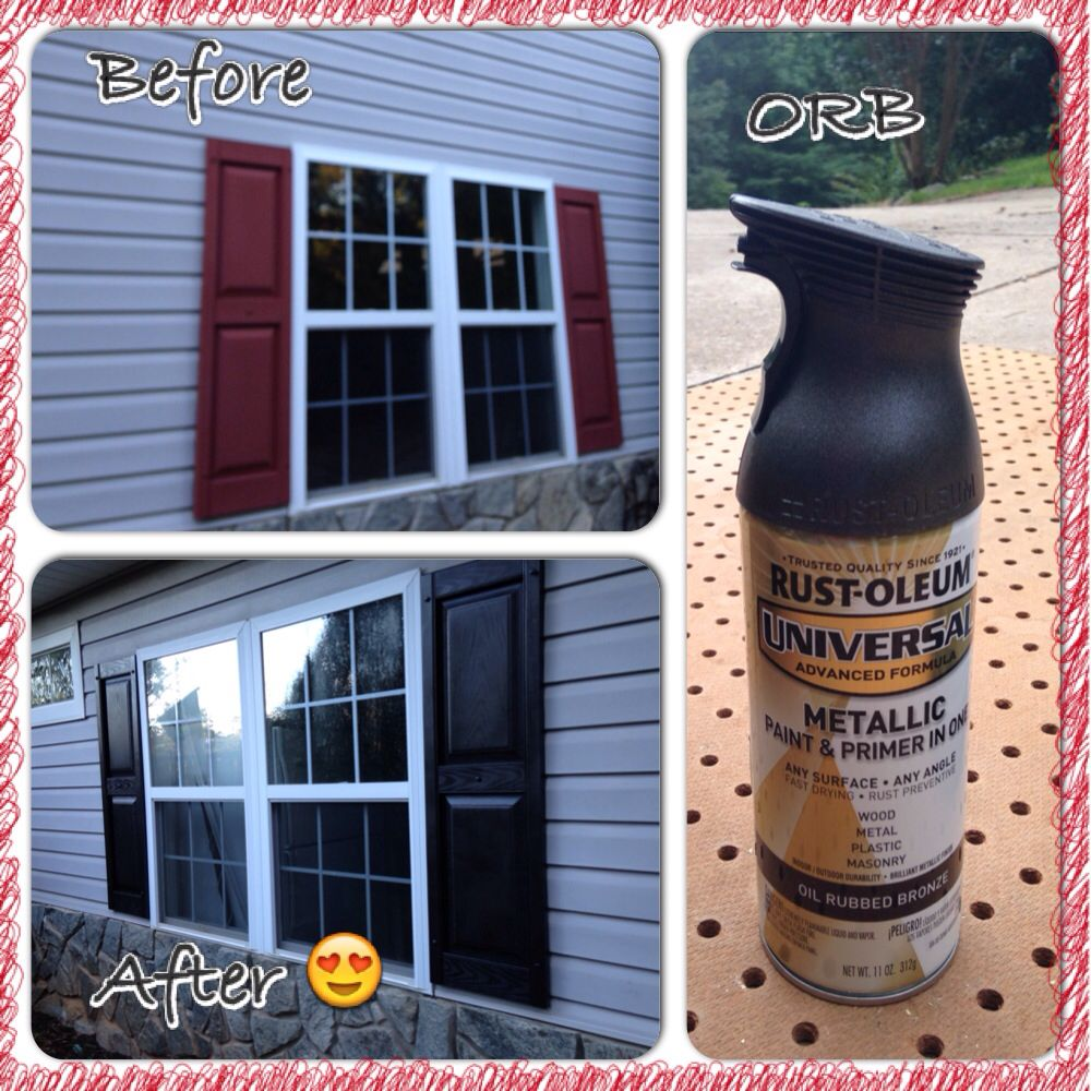 Obsessed With Rustoleum Oil Rubbed Bronze Ended Up Being The
