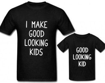de9885956b2 Father son matching shirts, Fathers day, Dad shirt, Daddy Son Shirt ...
