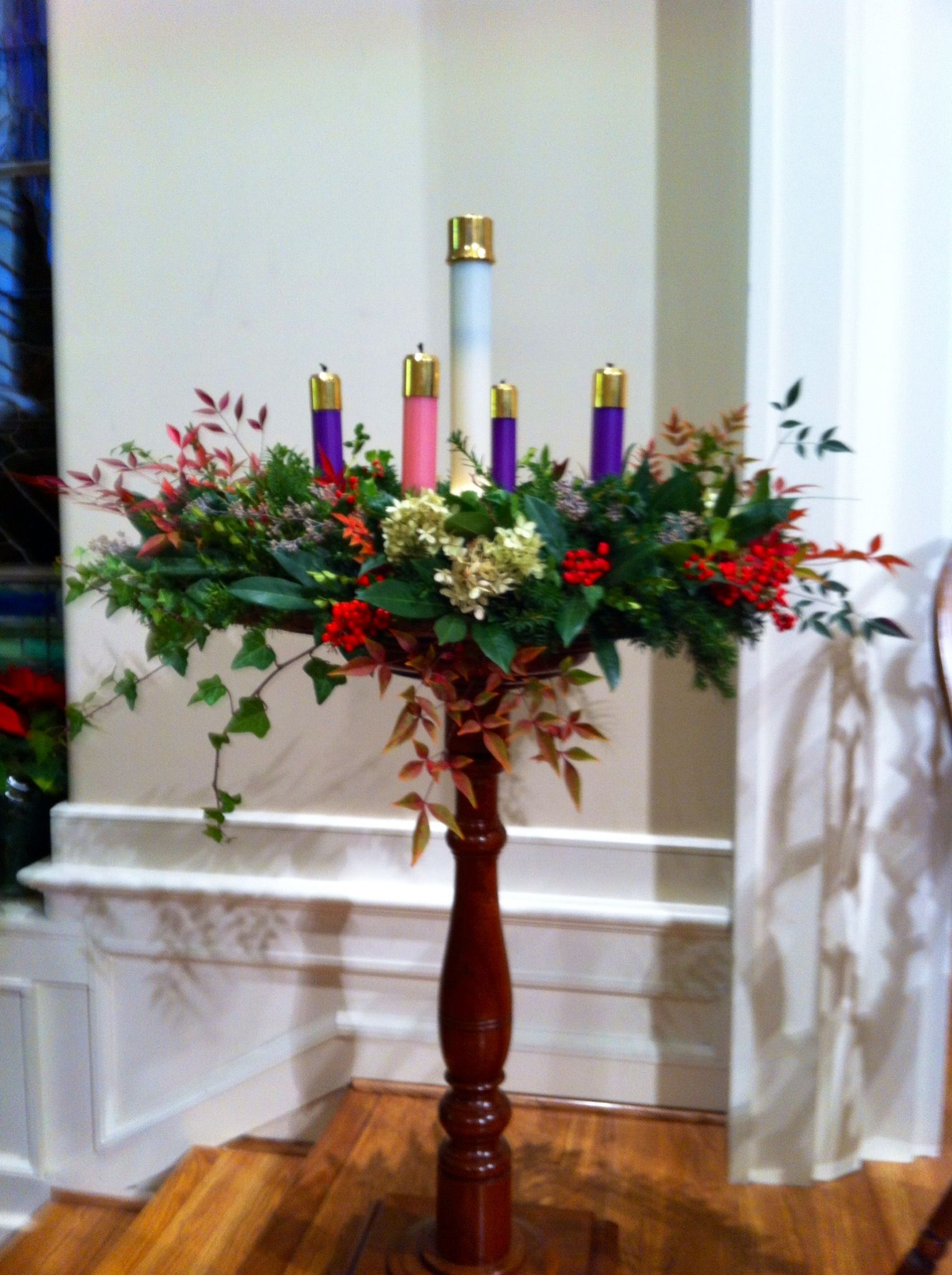 Advent wreath fun stuff pinterest advent church - Pinterest advent ...