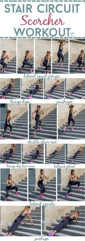 Stair Circuit Scorcher Workout