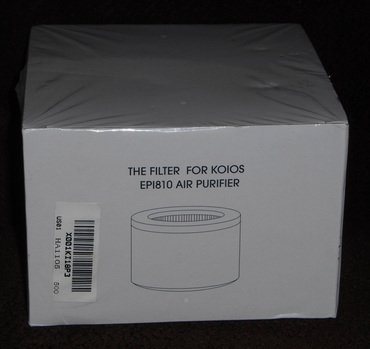 Replacement+Filter+For+Koios+Model+EP1810+Air+Purifier+NIB