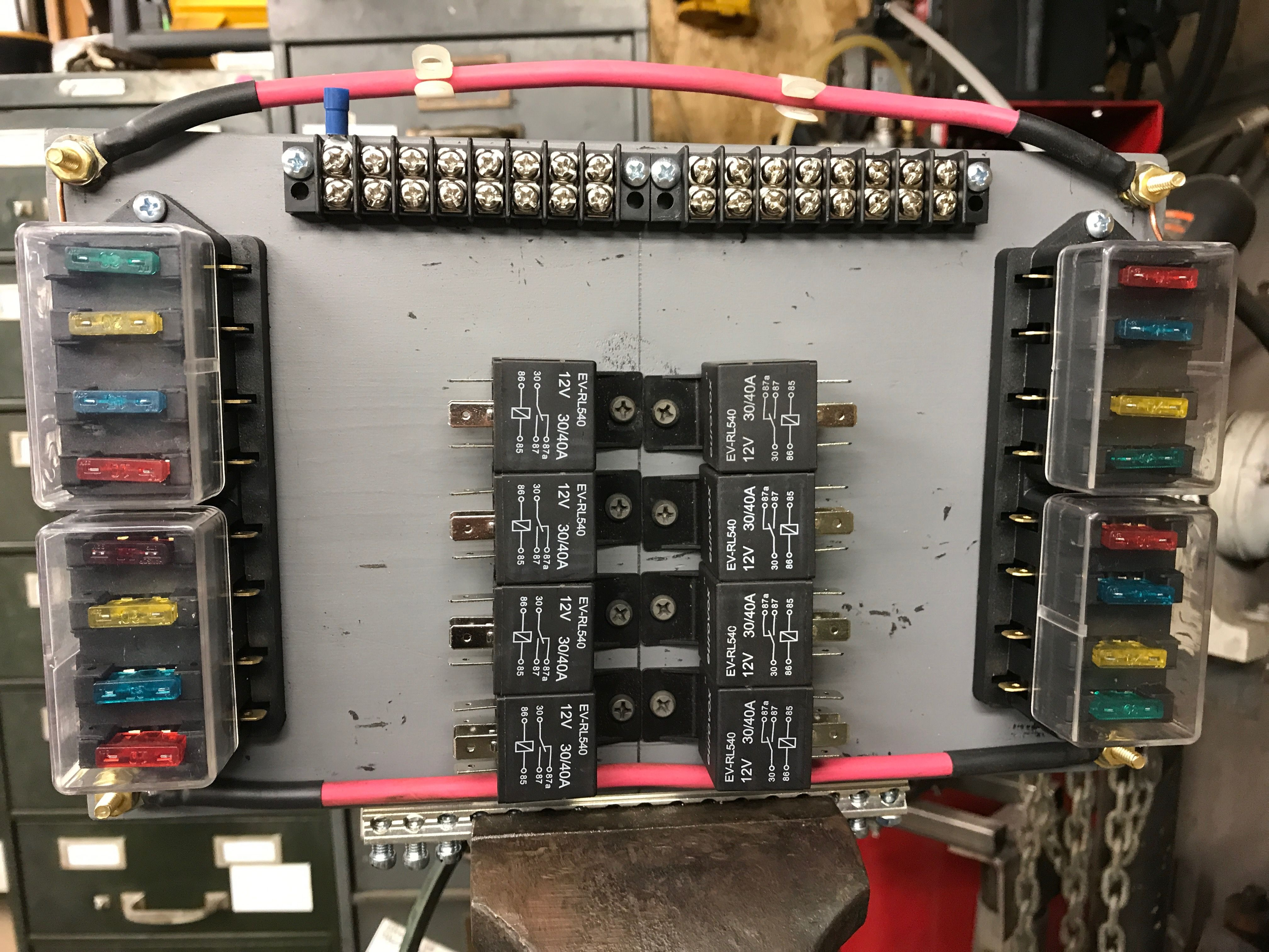 New Fuse And Relay Panel Automotive Electrical Electronics Projects Welding Projects