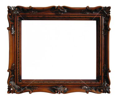 Ornate Wooden Frame Christmas Wood Picture Frames Frame