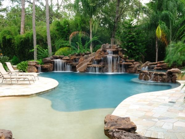 Custom Swimming Pools Priced Over $100k | Swimming pool ...