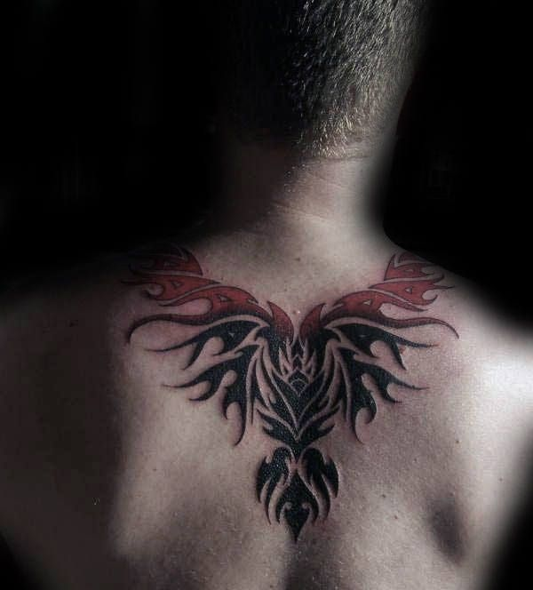 40 Tribal Phoenix Tattoo Designs For Men Mythology Ink Ideas Phoenix Tattoo Tattoo Designs Men Tribal Tattoos For Men