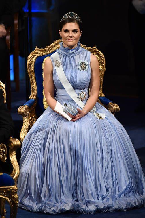Mita Iltapukuloistoa Ruotsin Kuninkaalliset Haikaisivat Nobel Gaalassa Victorialla Hempea Asu Royal Fashion Princess Victoria Of Sweden Princess Victoria