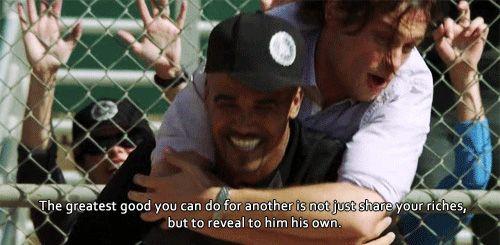 Quotes From Criminal Minds Criminal Minds 8X06 Morgan & Reid Ending Quote  Criminal Minds .