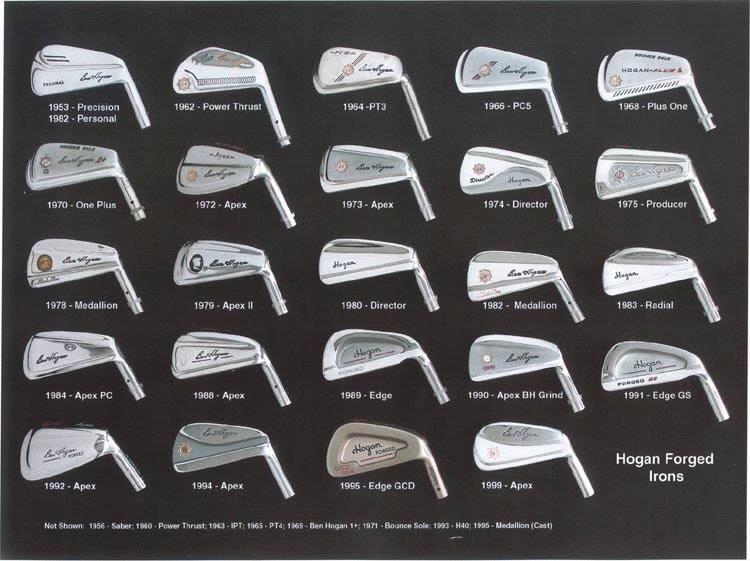 14++ Ben hogan golf irons history information
