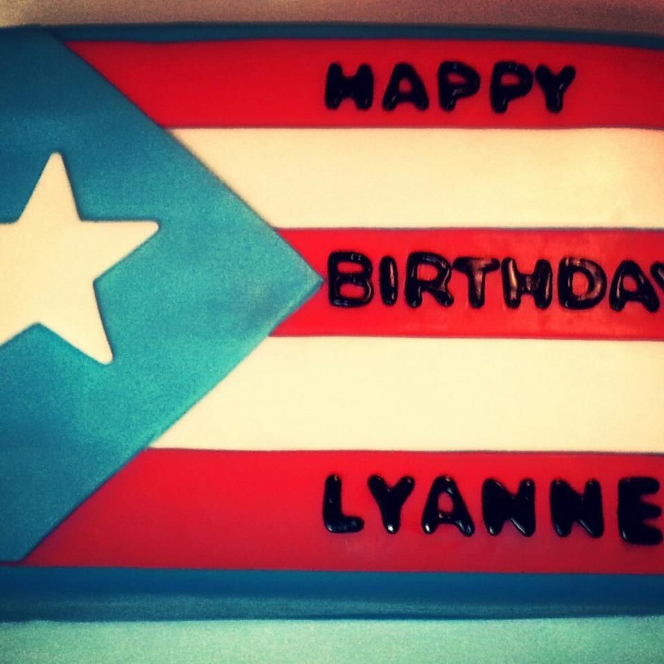 Puerto Rico Cake Https Www Facebook Com Pages Party Cakes 166372133386137 Party Cakes Cake Creations Party