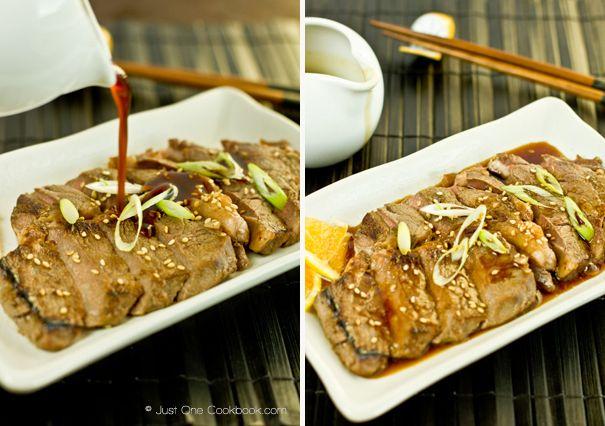 Beef Teriyaki ビーフ照り焼き