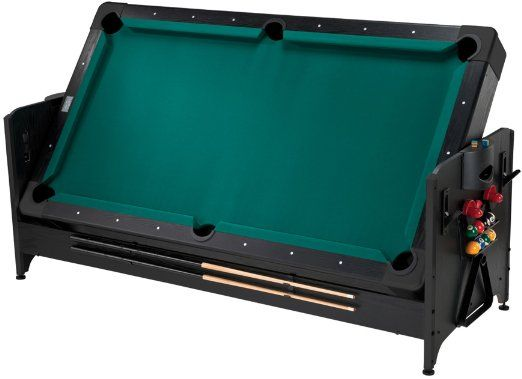 Amazon.com: Fat Cat Pockey 7ft Black 3-in-1 Air Hockey, Billiards, and Table Tennis Table: Sports & Outdoors