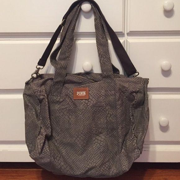 PINK Victoria Secret Travel Bag PINK Victoria Secret travel bag. Never used. Great for a over night or weekend getaway! PINK Victoria's Secret Bags Travel Bags