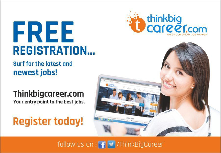Register free for daily job updates