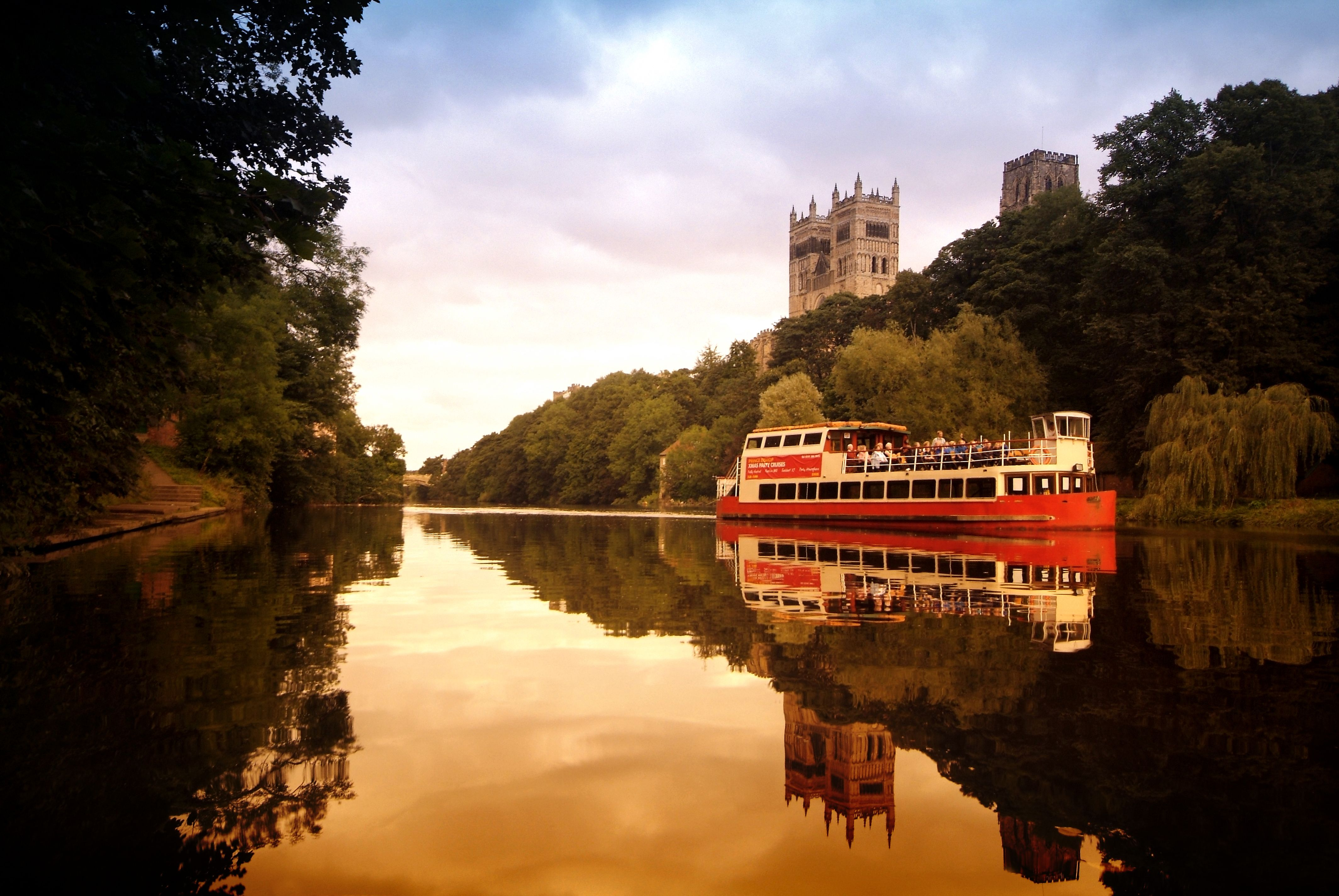 Enjoy A Romantic Boat Ride Aboard The Prince Bishops River Cruiser