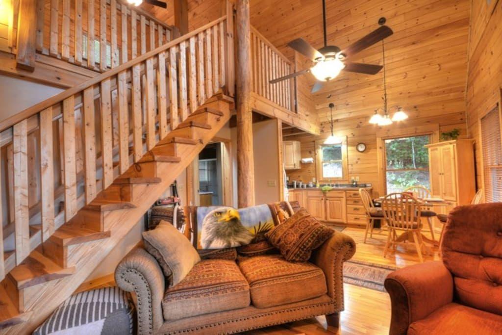 Cabin in Bryson City, United States. Soaring Eagle Cabin