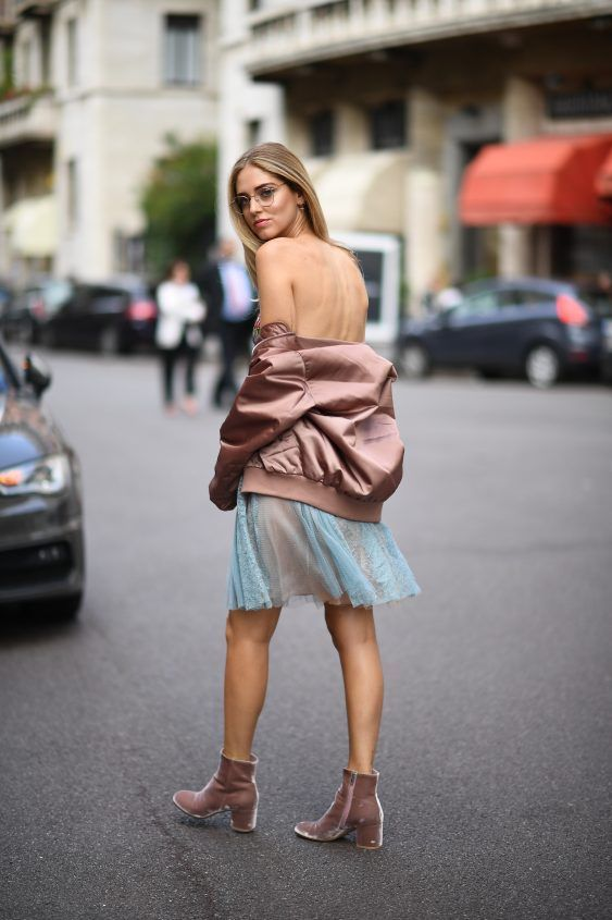You make me blush: 1st look of MFW