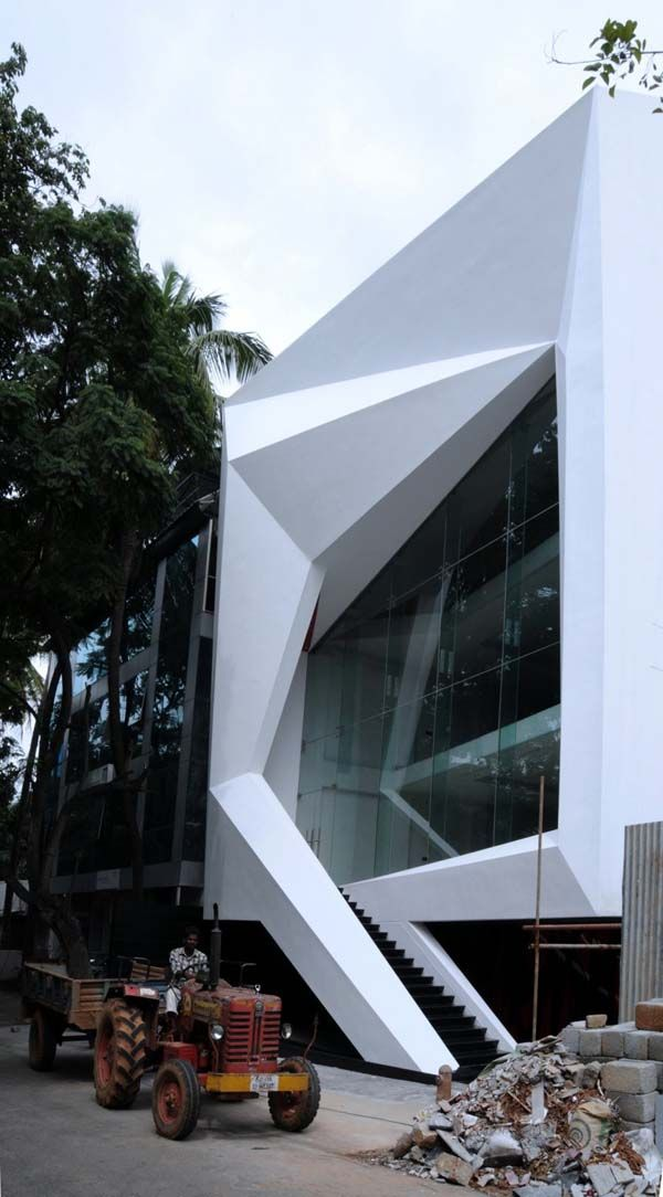 Chiseled commercial architecture in bangalore the jewel for Architects in bangalore