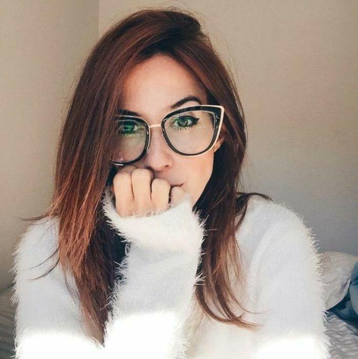 Pin De Cristina Ariadyne Em Girls De Oculos Com Imagens