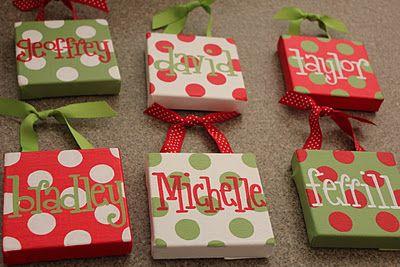 Christmas Ornaments:)