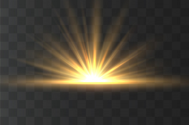 Light Highlight Yellow Special Effect With Rays Of Light And Magic Sparkles Sun Ray In 2020 Light Highlights Special Effects Special Effects Lighting