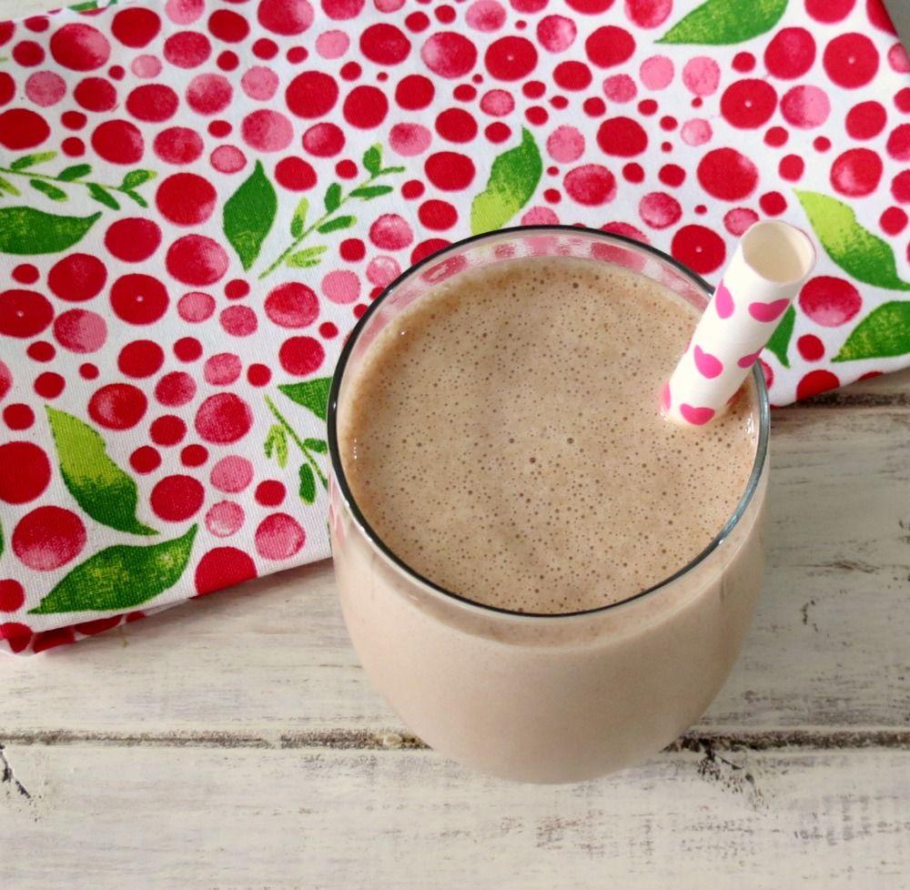 Malted Mocha Ice Coffee Recipe Malt milkshake
