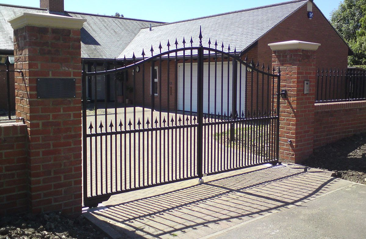 Electrically Operated Steel Gates