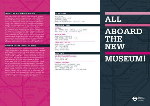 17 Best images about Brochure design on Pinterest | Museum of art ...