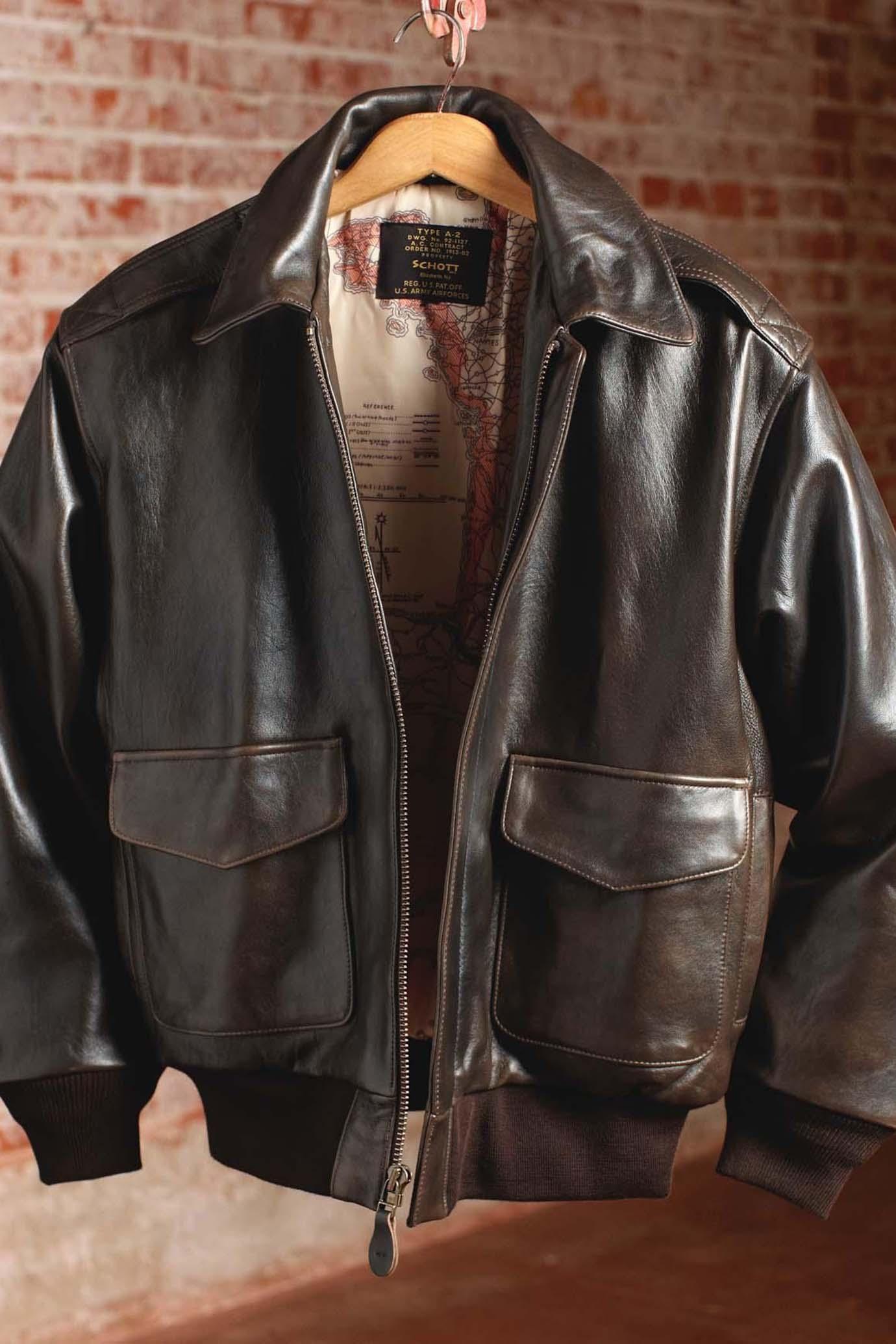 67982497b A-2 Flight Jacket   Men's Fashion in 2019   Jackets, Leather flight ...