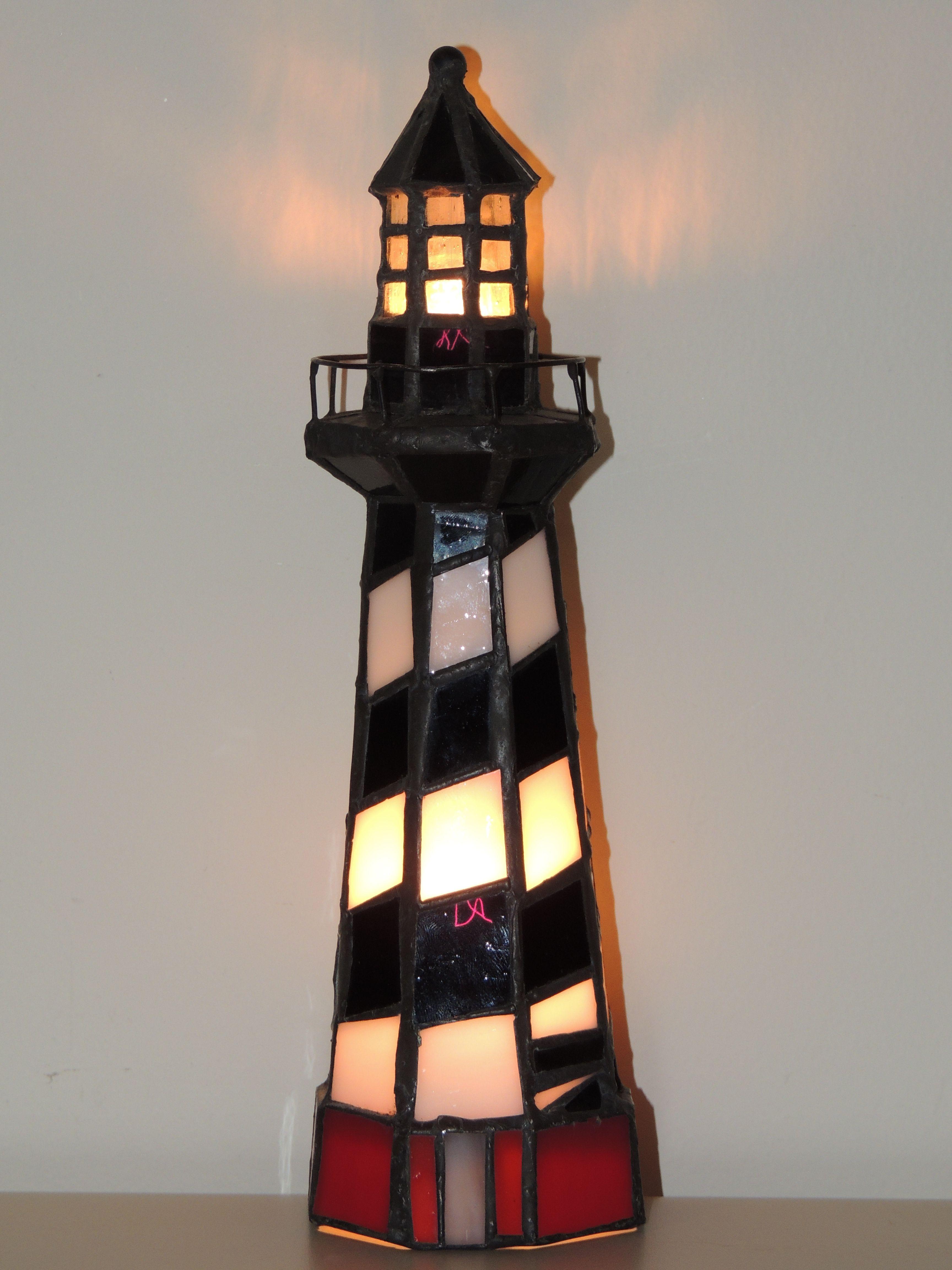 light lamp club decor lamps vintage house lighthouse antique table mycrimea