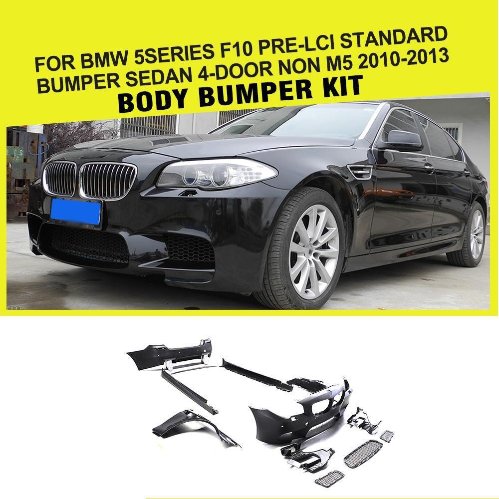 Pp Racing Car Body Kits Bumper Fender For Bmw 5 Series F10 520i