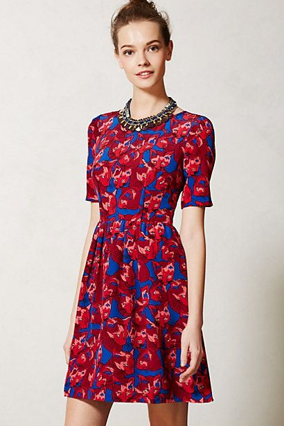 Peter Som X Anthropologie Cheshire Dress