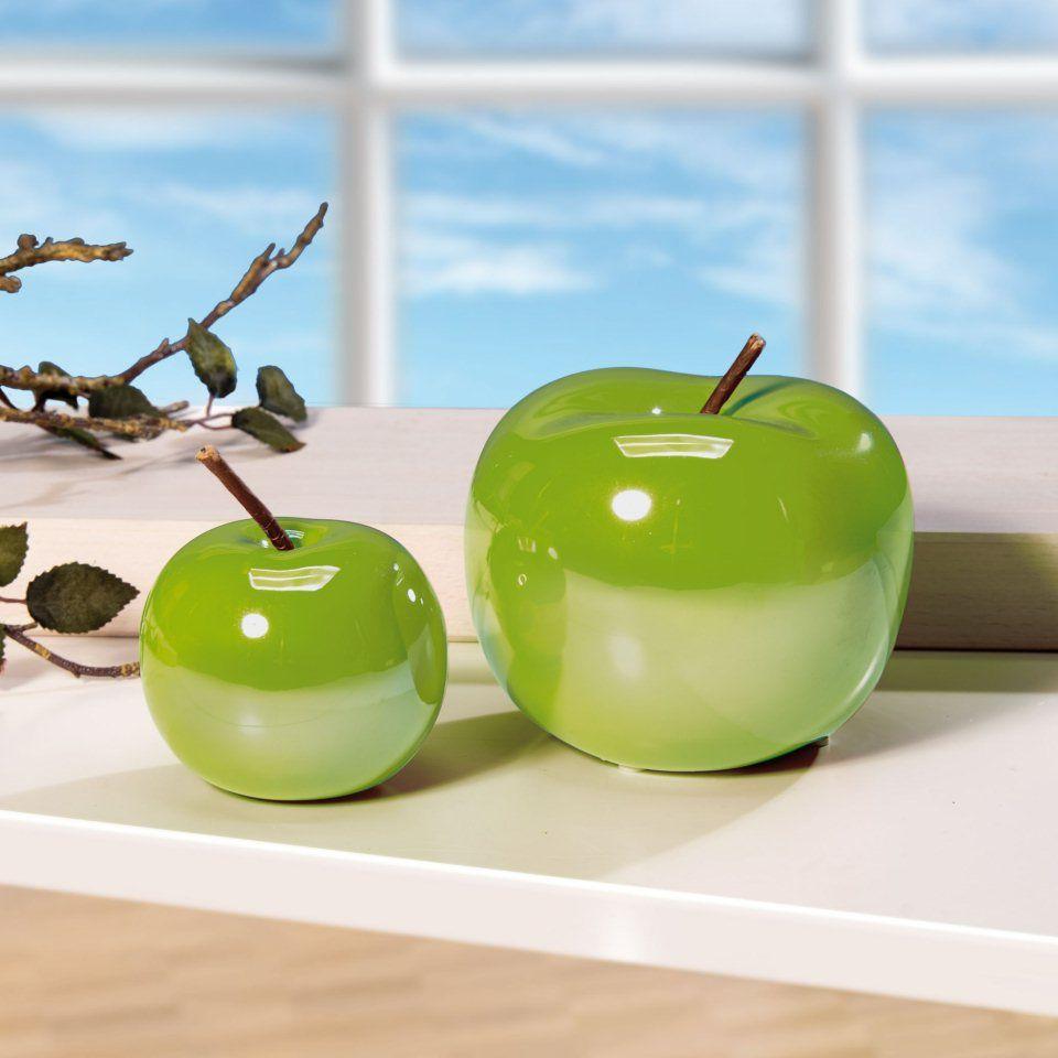 Stilvolle Deko Apfel Aus Keramik Traumhafte Tisch Deko In