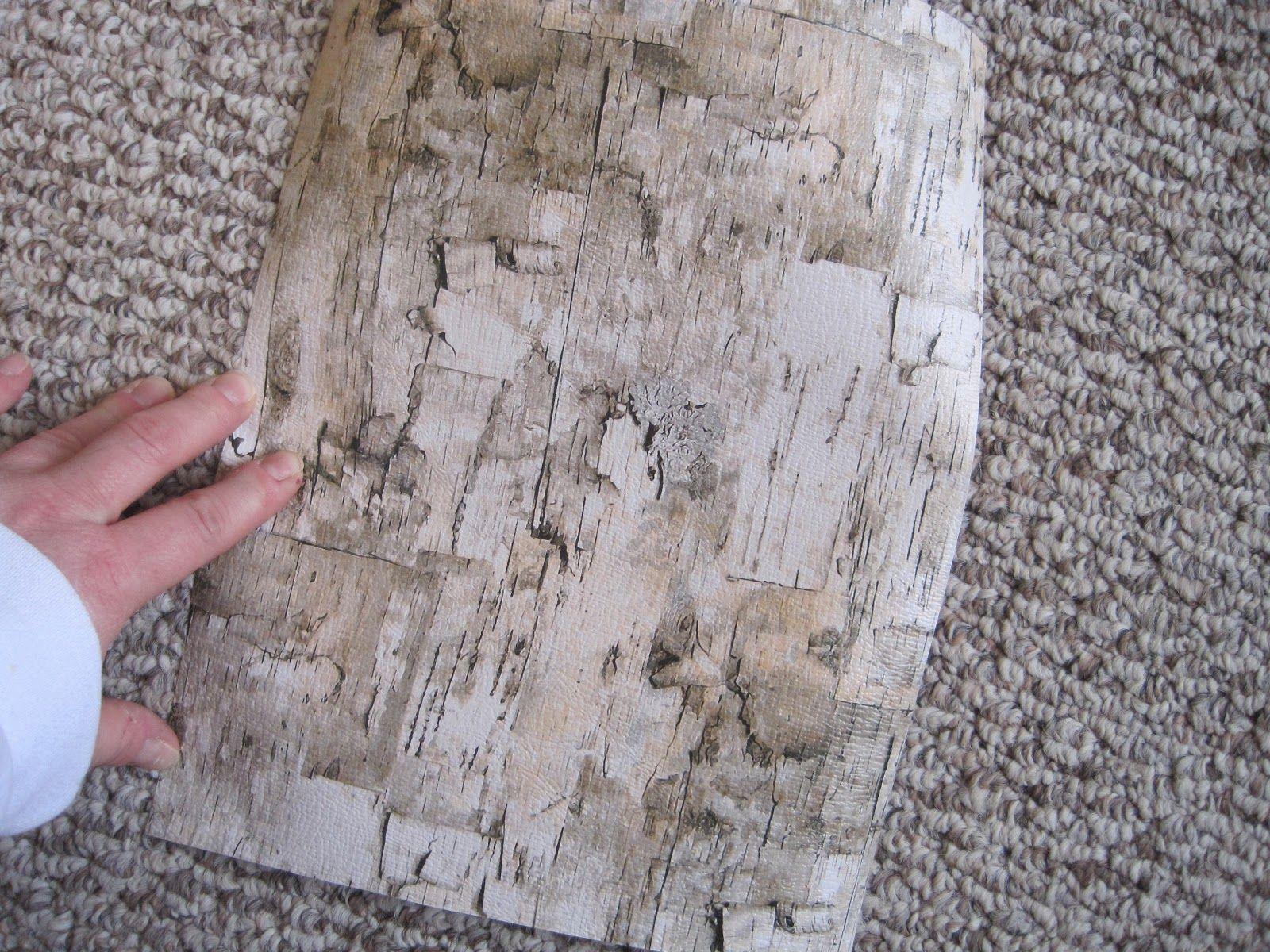 Printable Birch Bark Paper Run Your Thru