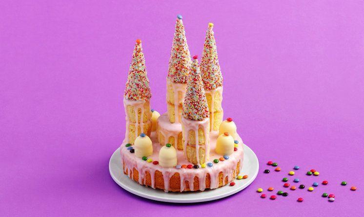 Geburtstagstorte Prinzessinnen-Schloss - Rezept | Swissmilk